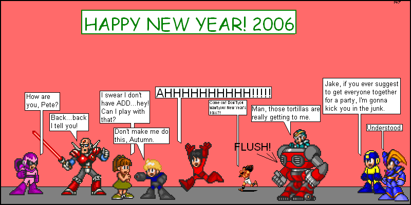 2006 New Year Special: Parties End Badly